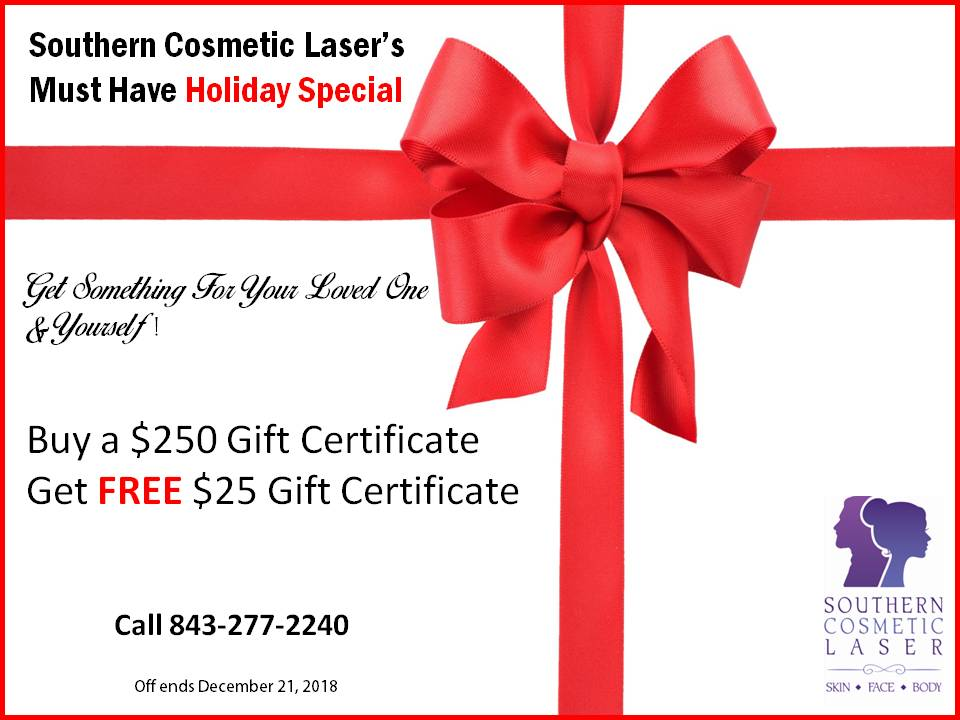 December Specials Charleston Monthly Specials at Southern Cosmetic Laser